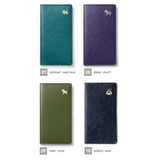 Color - MINIBUS 2021 Zoo pocket illustration dated weekly diary scheduler