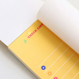 100gsm paper - ICONIC Merry memo checklist planner notepads