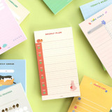 ICONIC Merry memo checklist planner notepads