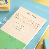 Usage example - ICONIC Merry memo checklist planner notepads