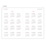 Calendar - MINIBUS 2021 Zoo basic dated daily diary scheduler