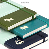Elastic band - MINIBUS 2021 Zoo basic dated daily diary scheduler