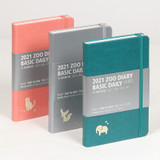 MINIBUS 2021 Zoo basic dated daily diary scheduler