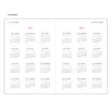 Calendar - MINIBUS 2021 Zoo simple dated daily diary scheduler