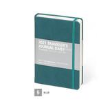 05 Blue - MINIBUS 2021 Traveler's dated daily diary scheduler