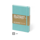Mint - MINIBUS 2021 Traveler's dated weekly diary journal