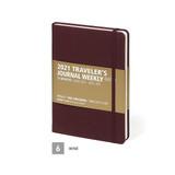 Wine - MINIBUS 2021 Traveler's dated weekly diary journal