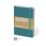 Blue - MINIBUS 2021 Traveler's dated weekly diary journal