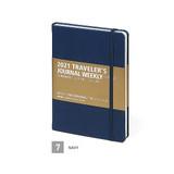 Navy - MINIBUS 2021 Traveler's dated weekly diary journal