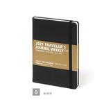 Black - MINIBUS 2021 Traveler's dated weekly diary journal