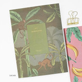 Safari - O-check 2021 Les beaux jours dated weekly diary planner
