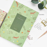 Squirrel - O-check 2021 Les beaux jours dated weekly diary planner