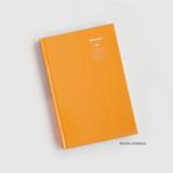 Neon Orange - GMZ Brilliant dateless daily planner scheduler
