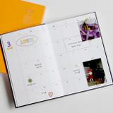 Monthly plan - GMZ Brilliant dateless daily planner scheduler