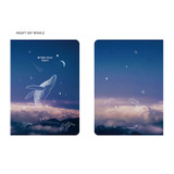 Night sky whale - PLEPLE 2021 Better than Today dated weekly planner scheduler