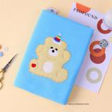 Vanilla Monggeul bear - Wanna This Tailorbird dateless weekly diary planner ver6