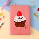 Strawberry Cup cake - Wanna This Tailorbird dateless weekly diary planner ver6