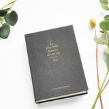 Black - O-CHECK 2021 Eco friendly A6 dated daily diary planner