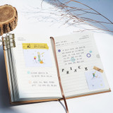 Ribbon bookmark - O-CHECK 2021 Eco friendly A6 dated daily diary planner