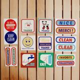 UNIVERSAL CONDITION Decorative message sticker set