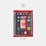 07 Jelly Jello - Second Mansion Retro 6-ring A5 undated weekly planner