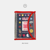 Jelly Jello - Second Mansion Retro 6-ring A6 undated weekly planner