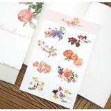 N.IVY Merci bloom removable sticker set