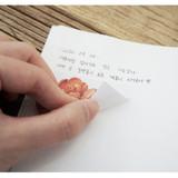 Removable - N.IVY Merci bloom removable sticker set