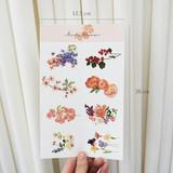 Size - N.IVY Merci bloom removable sticker set