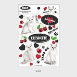 02 cat - Wanna This Object removable deco sticker