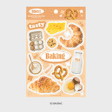 05 Baking - Wanna This Object removable deco sticker
