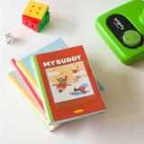 Dailylike My Buddy dateless weekly diary planner