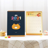 ICONIC 2021 Witty dated monthly desk calendar