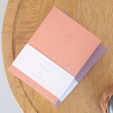 3AL Hello 2021 small dated weekly diary planner