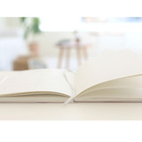 Opens flat, ribbon bookmark - 3AL Hello 2021 dated weekly diary planner