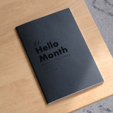 Eedendesign 2021 Hello month A5 dated monthly planner