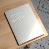 Eedendesign Hello month B5 dateless monthly planner