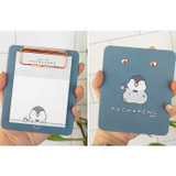 N.IVY Pochapeng clipboard holder with sticky notepad