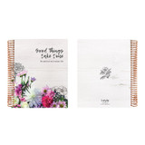 2021 Live flowers spiral dated weekly planner