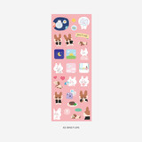 02 Daily life - PLEPLE Bunny life paper removable sticker