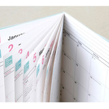Detail of Chachap 2021 Note dated monthly diary planner