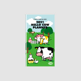 Chachap 2021 Hello cow dated monthly diary planner