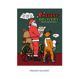 Present delivery - Ardium Merry Christmas card and envelope set