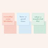 Comes with cards - Ardium 31 days dateless daily desk calendar