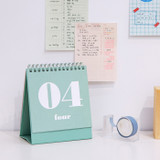 Usage example - Ardium 31 days dateless daily desk calendar