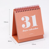 Size - Ardium 31 days dateless daily desk calendar