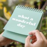 Ardium 31 days dateless daily desk calendar