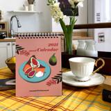 Design Comma-B 2021 Sweet dessert monthly desk calendar