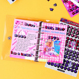 Deep - Wanna This Color blank paper A7 size 6 holes refills set