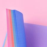 Wanna This Palette grid paper A7 size 6 holes refills set